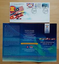 2005 Malaysia 11th ASEAN Summit 3v Stamps FDC (Kuala Lumpur Cachet)