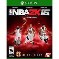 NBA 2K16 For Xbox One Basketball Very Good 8E