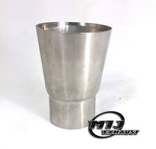 """2.75"""" - 2"""" Stainless Exhaust Adapter Pipe Reducer Van Truck Bike Flue Connector"""