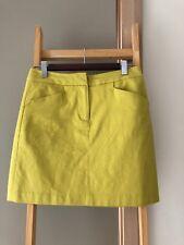 Gorgeous SABA Mustard Yellow A-Line Muni Skirt Sz 6 XS EUC