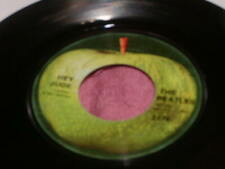 """The Beatles 'Hey Jude' 1st press 1968 7"""" record vg+ cond USA #0074"""
