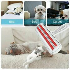 Pet Dog Cat Reusable Hair Lint Remover Fur Roller Sofa Clothes Cleaning Brush