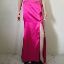 C850 - NB Long Pink Skirt with High Slit