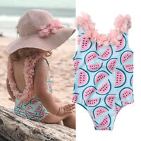 Toddler Infant Baby Girls Watermelon Swimsuit Swimwear Swimming Bikini