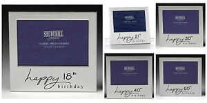 Happy 1st 13th 18th 21st 30th 40th  50th 60th 90th Birthday Photo Picture Frame