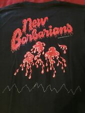 New barbarians 1979 vintage Tour T-shirt keith Richards