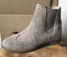 Ladies LOTUS Suede Chelsea Boots - Size 4 (37) - NEW