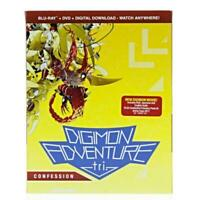 Digimon Adventure Tri. 3: Confession (Blu-ray Disc, 2017, 2-Disc Set)