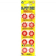 8 Shot Caps 20 rings per pack 160 shots Novelty Gun Pellets Bullets Set Discs