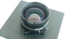 Nikkor (Nikon) 210mm/f 5.6 W lens, Copal shutter and horseman board (757974)