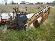 Bobcat 907 Backhoe Attachment NICE! 743 Skid Steer Loader 742 742B Kubota