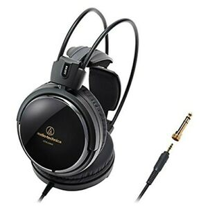 audio technica ATH-A500Z Art Monitor Headphones Black Japan Import With Tracking