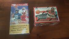 2 x NBA BASKETBALL CARD BOXES. Michael Jordan & Lebron James NBA autos?