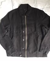 YMC Jacket Sz M Black Wool Coat You Must Create London