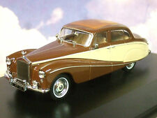 OXFORD 1/43 ENID BLYTON'S ROLLS ROYCE SILVER CLOUD HOOPER EMPRESS BROWN & CREAM