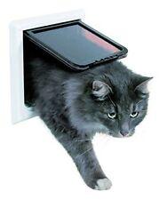 Trixie 3867 Freecat de Luxe puerta gato extra grande blanco