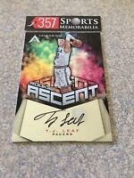 TJ LEAF 2017-18 PANINI ASCENSION ROOKIE ASCENT #ASC-TJL INDIANA PACERS #D /299