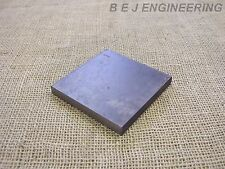 Black Steel Plate 100mm x 100mm x 12mm  Fixing-Mounting