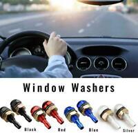 2Pcs Universal Car Front Windshield Washer Wiper Sprayer Nozzle Auto Parts I0Z4