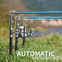 Newest Automatic Telescopic Fishing Rod Sea River Lake Fishing Pole Spinning Rod