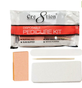 200 Disposable Pedicure Kit (Red)