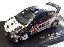 IXO MODELS FORD FIESTA RS WRC Ketomaa RAM515 Rally POrtugal 2012 DIECAST