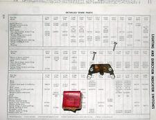 NOS Lucas Contact Set 348643 to Indicator/Trafficator 31760. Riley 1.5 -->