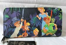 More details for diseny loungefly peter pan scenes purse wallet new with tags tinkerbelle wendy