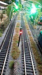 4x 12v Model Railway Signals Just The Job Very Realistic