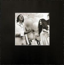 THE BEATLES POSTER PAGE 1968 JOHN LENNON & YOKO ONO YOU ARE HERE EXHIBITION .73M