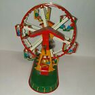 Tin Lithograph Keywound Ferris Wheel by Joseph Wagner - Made in Germany