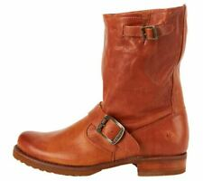 FRYE Women's Veronica Short Boot Whiskey Soft Vintage Leather-76509 - SIZE 6
