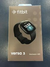 Fitbit Versa 3 Health and Fitness Smartwatch with GPS - Black
