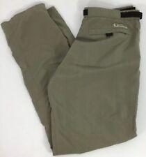 Columbia Women's Outdoors Pants Size Large Khaki Green Hiking Fishing        D1b
