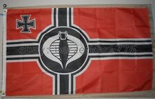 G.I. Joe Cobra 3'x5' German Red WW2 Flag Banner - USA Seller Shipper