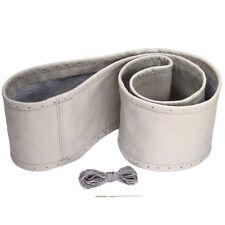 Cover Steering Wheel Of Chapel de Tomaso Delahaye Delage Leather Grey Clear 37