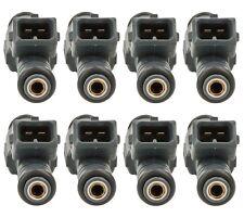 Set of 8 Bosch Fuel Injectors for BMW E31 840Ci E32 E38 740iL E34 530i E39 540i