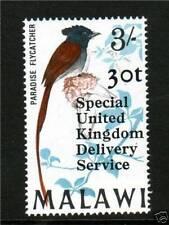 Malawian Birds Stamps