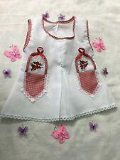 BABY DRESS 0-6 MONTHS   / VESTIDO PARA BEBÉS