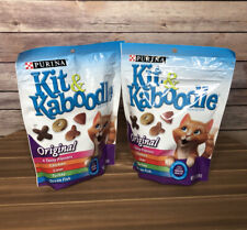 (Lot of 2) Purina Kit & Kaboodle 4 TASTY FLAVORS Original Cat Food 12 Oz Bags