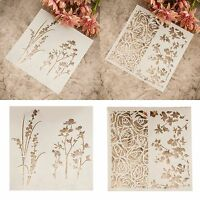 Scrapbooking Diary Cutting Dies Stencil DIY Long Flower Paper Card Metal  Gift