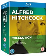 Alfred Hitchcock Collection 3 Movie Blu-Ray Set NEW Dial M/North/StrangersTrain