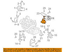 GM OEM-Engine Motor Mount-Rear 25723646