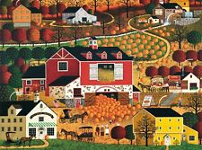 "Charles Wysocki ""Butternut Farms"" 1,000 Piece Puzzle"
