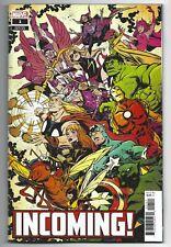 Incoming #1 2019 Unread 1st Print Sanford Greene Variant Marvel Comics Al Ewing