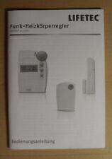 Bedienungsanleitung Lifetec Medion MD12050 Funk-Heizkörperregler ELV Conrad