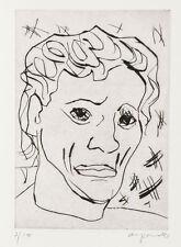 A.R. Penck (Dresden 1939), eigentl. Ralf Winkler   Kopf   Radierung  signiert