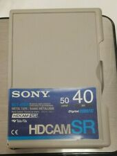 SONY  BCT-40SR  PROFESSIONAL HDCAM SR VIDEO TAPE