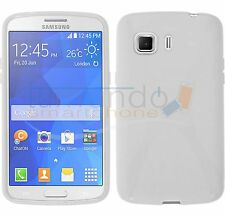 Cover in GEL TPU X-LINE BIANCO per SAMSUNG GALAXY YOUNG 2 G130H case