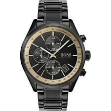 Brand New Men's Hugo Boss Grand Prix Black Watch - HB1513578